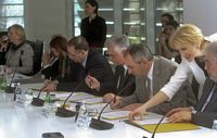 Signing of the agreement on cooperation among the state universities in Serbia