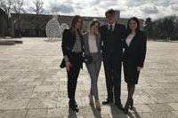 UNIVERSITY OF NOVI SAD STUDENTS WON THE THIRD PLACE IN INTERNATIONAL COMPETITION IN FRANKFURT