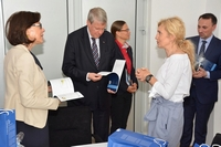 PRESIDENT OF THE GERMAN NATIONAL ACADEMY OF SCIENCES VISITED THE UNIVERSITY OF NOVI SAD