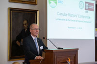 ANNUAL MEETING OF THE DANUBE RECTORS' CONFERENCE HELD IN BRATISLAVA