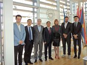VISIT OF THE DELEGATION OF EMBASSY OF CHINA IN SERBIA