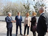 VISIT BY THE REPRESENTATIVE OF THE ASTRAKHAN STATE MEDICAL UNIVERSITY