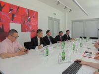 VISIT OF THE DELEGATION OF SOUTHEAST UNIVERSITY IN NANJING