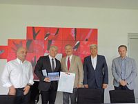 THE VISIT OF THE DELEGATION OF NOVA UNIVERSITY LISBON