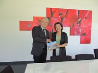 MEMORANDUM OF UNDERSTANDING SIGNED WITH WUHAN TEXTILE UNIVERSITY