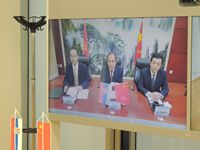 ONLINE SIGNING CEREMONY OF ESTABLISHING THE CHINA-SERBIA RESEARCH INSTITUTE